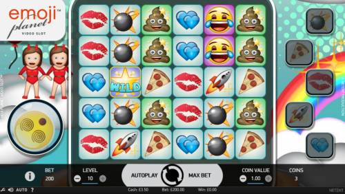 Emoji Planet review on Review Slots
