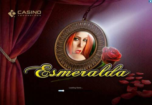 Esmeralda Review Slots Splash screen - game loading