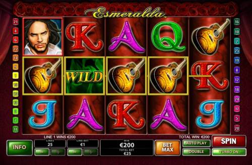 Esmeralda Review Slots