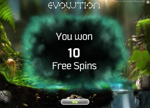 Evolution Review Slots 10 free spins have been awarded