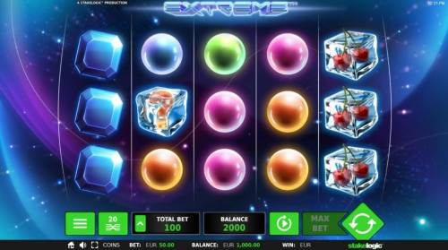 Extreme Review Slots Main Game Board
