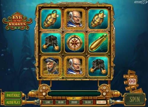 Eye of the Kraken Review Slots Conquer the Kraken bonus game triggered once you collect 50 torpedo scatter symbols.
