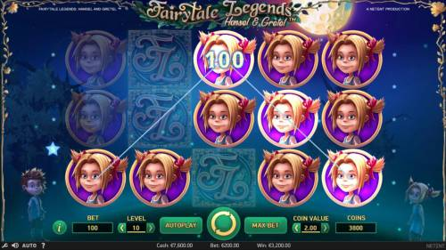 Fairytale Legends Hansel & Gretel Review Slots Multiple winning paylines triggers a big win!