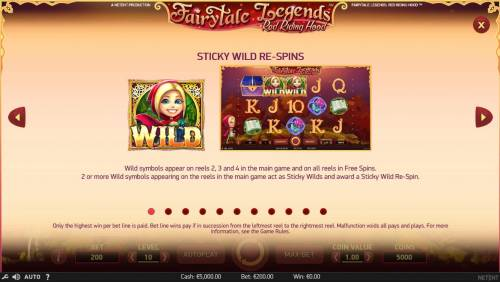 Fairytale Legends Red Riding Hood review on Review Slots