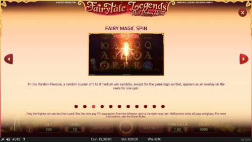 Fairytale Legends Red Riding Hood Review Slots Fairy Magic Spin Games Rules