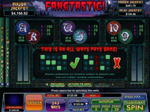 Fangtastic! review on Review Slots