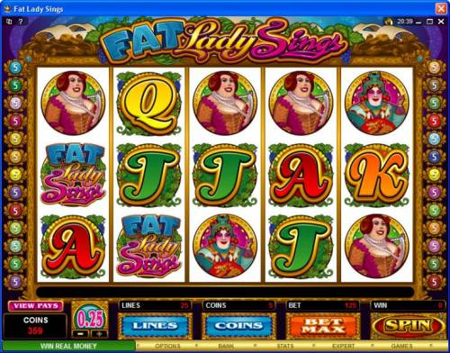 Fat Lady Sings review on Review Slots
