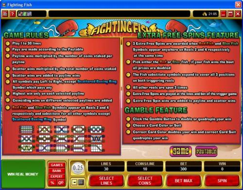 Fighting Fish Review Slots