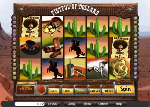 Fistful of Dollars review on Review Slots