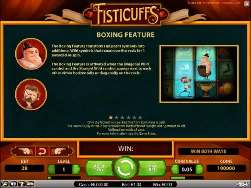Fisticuffs Review Slots boxing feature game rules