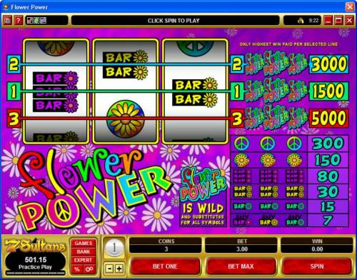 Flower Power Review Slots