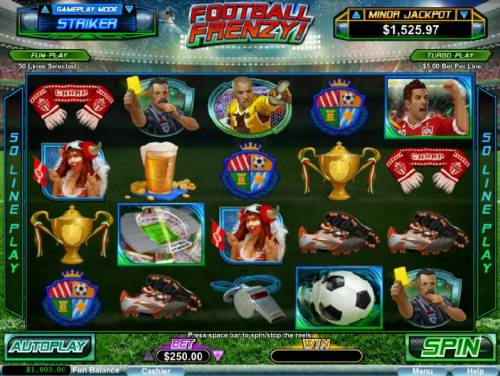 Football Frenzy! review on Review Slots