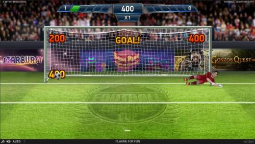 Football Champions Cup Review Slots Points are awarded for each successful goal scored.