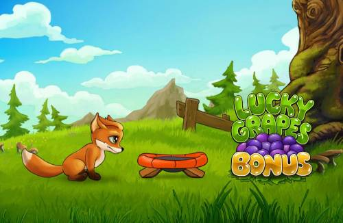 Foxy Fortunes Review Slots Lucky Grapes Bonus featire game board.