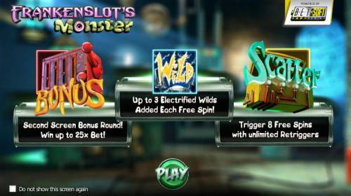 Frankenslot's Monster review on Review Slots