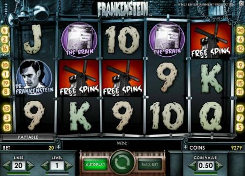 Frankenstein review on Review Slots