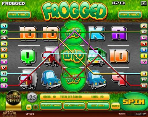 Frogged review on Review Slots