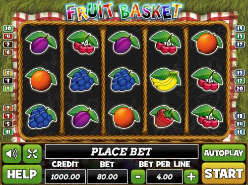Fruit Basket review on Review Slots