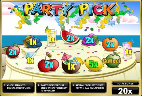 Fruit Party review on Review Slots