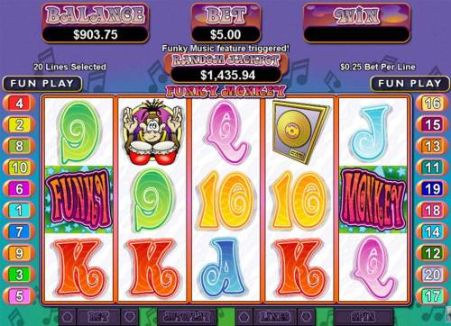 Funky Monkey review on Review Slots