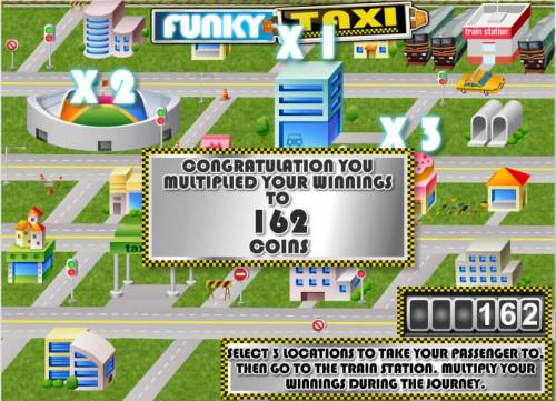 Funky Taxi review on Review Slots
