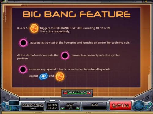 Galacticons Review Slots Big Bang Feature game rules