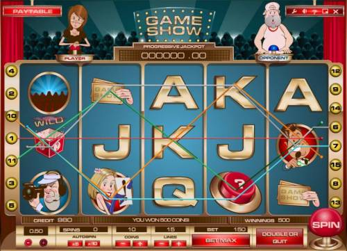 Game Show Review Slots multiple winning paylines triggers a big win