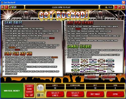 Get Rocked Review Slots