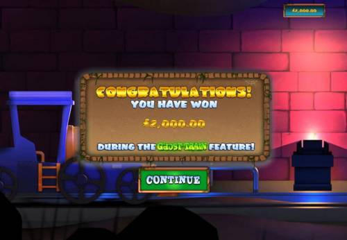 Ghost Train Fairground Fortunes Review Slots Bonus feature pays out a total og 2,000.00