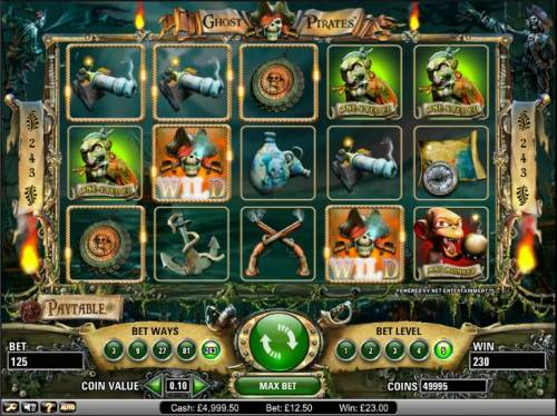 Ghost Pirates Review Slots Ghost Pirates slot game in action