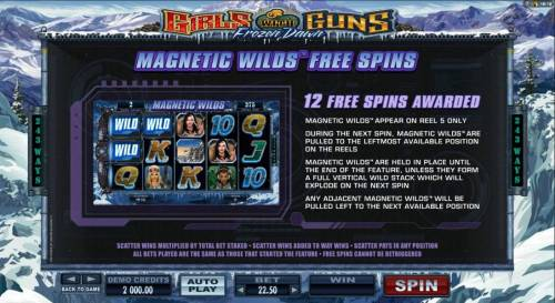 Girls with Guns 2-Frozen Dawn Review Slots Magnetic Wilds Free Spins rules