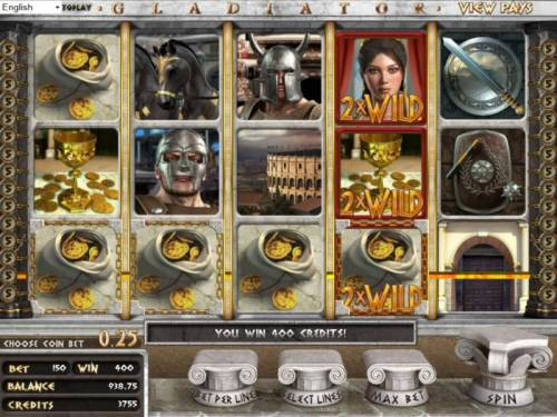 Gladiator review on Review Slots