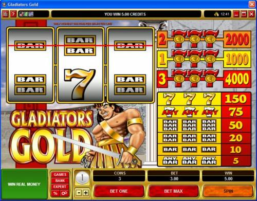 Gladiators Gold Review Slots