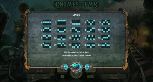 Gnomes Gems review on Review Slots