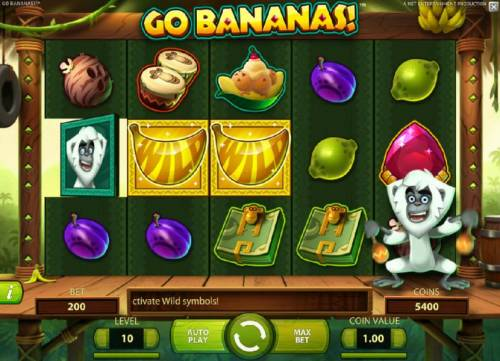 Go Bananas review on Review Slots