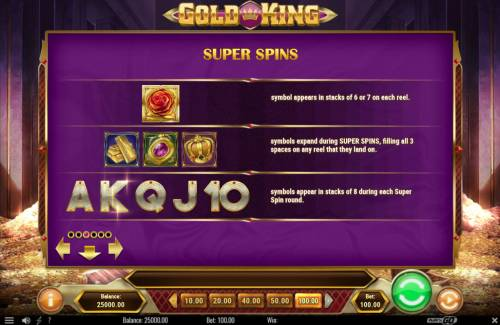 Gold King review on Review Slots