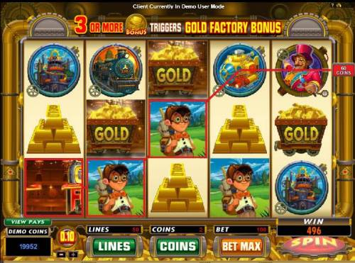 Gold Factory Review Slots Real big win
