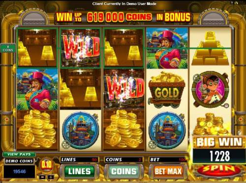 Gold Factory Review Slots woo! big winner