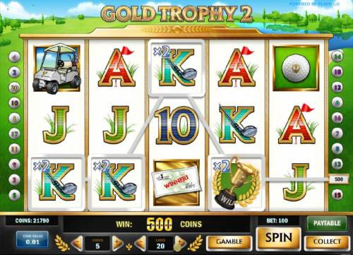 Gold Trophy 2 review on Review Slots