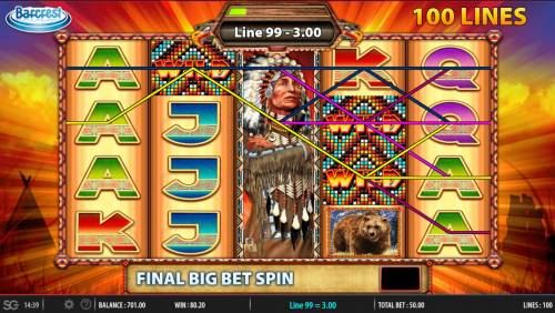 Golden Chief Review Slots Big Bet Game Board