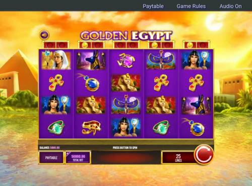 Golden Egypt review on Review Slots