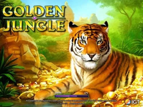 Golden Jungle Review Slots Splash screen - game loading