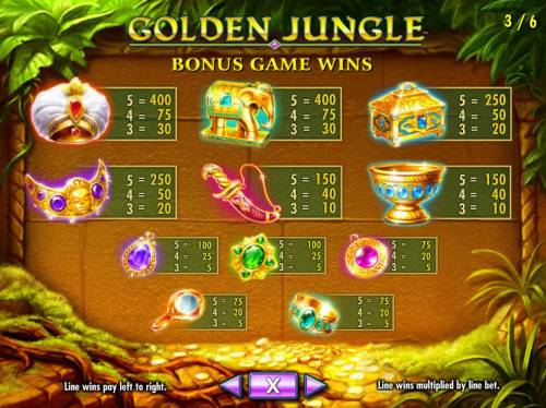 Golden Jungle Review Slots Bonus Game Wins