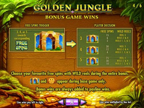 Golden Jungle Review Slots Three or more golden archways triggers free spins