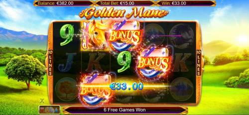 Golden Mane review on Review Slots