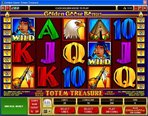 Golden Goose - Totem Treasure Review Slots