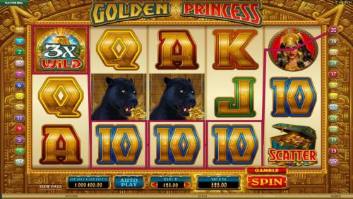 Golden Princess review on Review Slots