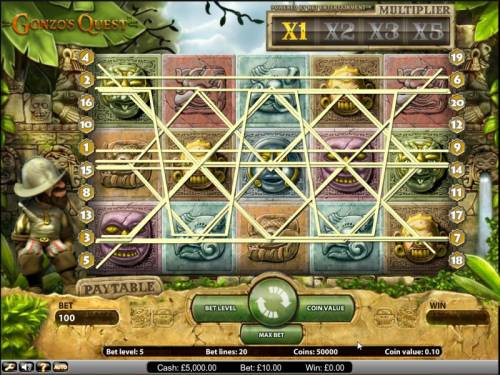 Gonzo's Quest Review Slots Gonzo's Quest slot game paylines