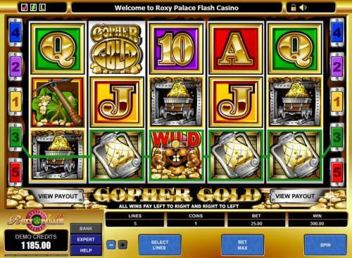 Gopher Gold Review Slots here is an example of a 300 coin big win jackpot