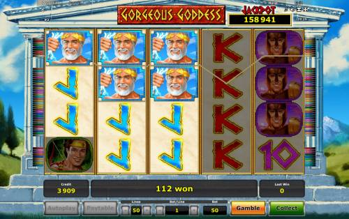 Gorgeous Goddess Review Slots Multiple winning paylines